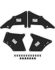 A-Premium Splash Guards Fender Liner Shields Compatible with Toyota 4Runner Tacoma Sequoia Land Crusier