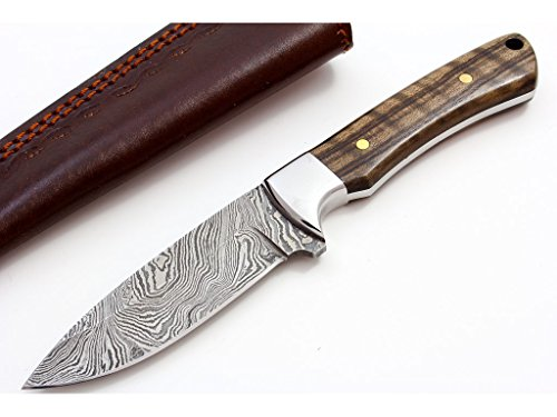 Drop Point Hunter Leather - BUCKNBEAR KNIVES Classic Hunter 4in Drop Point Knife (BNB137198), Black