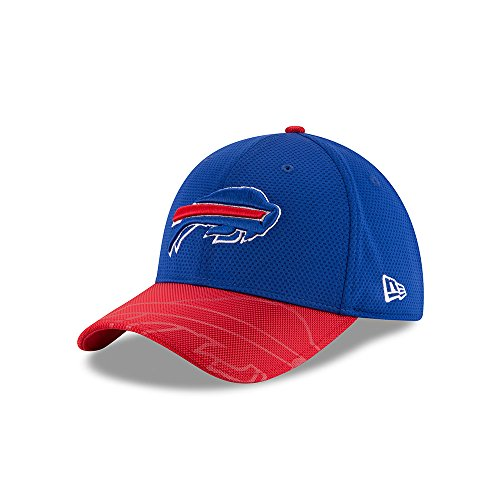 51bca71496afa New Era Men s 2016 NFL Sideline 3930 Bills Flex Fit Hat Blue Red Size  Small. found at Amazon