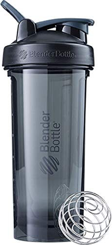 BlenderBottle Pro Series Shaker Bottle, 28-Ounce, Black ()