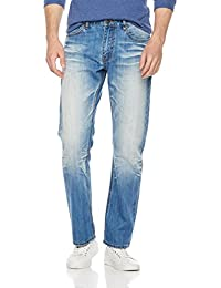 "<span class=""a-offscreen"">[Sponsored]</span>Men's Straight Fit Selvedge Indigo Fade Jean"