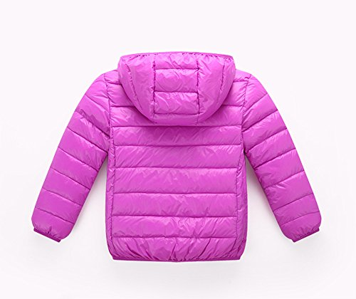 Lightweight Down Jacket Lemonkids;® Black Children Boys Winter Girls Anoraks Purple Chic xPx01Iq