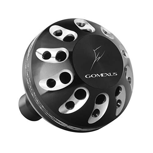 (GOMEXUS Power Knob Compatible for Shimano Stradic FK Sustain FI 1000-4000 Daiwa Saltist Back Bay LT 3000 4000 Caldia 2000-4000 Direct Penn Pursuit Drill Fitment Reel Handle Replacement 38mm)
