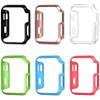 [6 Color Pack] Fintie Apple Watch Case 42mm, Ultra Slim Lightweight Polycarbonate Hard Protective Bumper Cover...