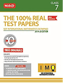 Buy The 100% Real Test Papers (NSO) Class 7 Book Online at Low