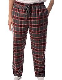 Men's Flannel Pajamas - Plaid Pajama Pants for Men - Lounge & Sleep PJ Bottoms