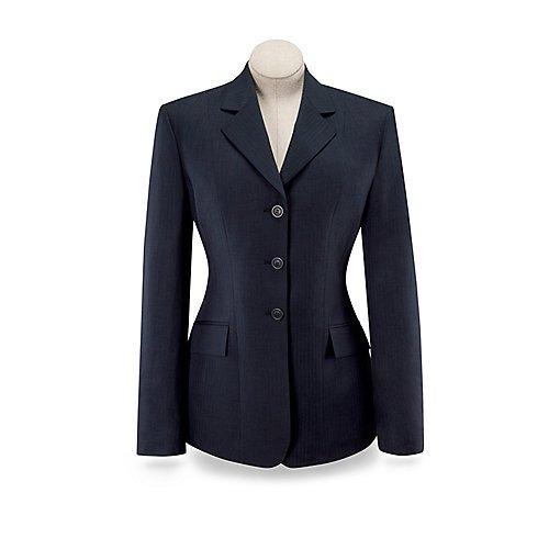 (R.J. Classics Ladies Devon Show Coat (Black, 00))