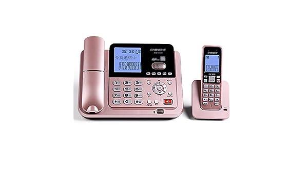 Yingying Teléfono inalámbrico Teléfono de Negocios Digital Teléfono inalámbrico Máquina de la Madre Square Teléfono Fijo Fijo del hogar Máquina del Viejo Hombre (Color : C): Amazon.es: Electrónica