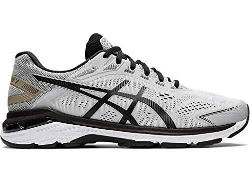 ASICS Men's GT-2000 7 Running Shoes, 11M, MID Grey/Black