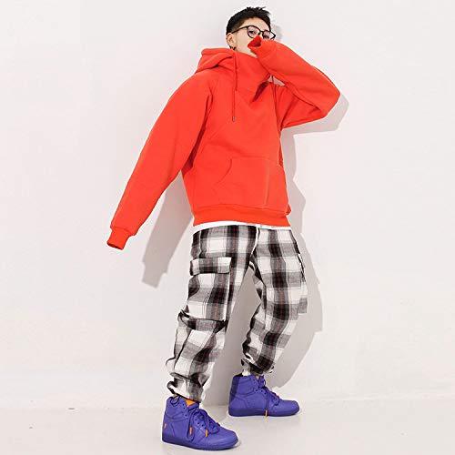 Jersey Street Gran Tamaño Yongbe Cálido Sudaderas Ropa Manga De Hombres Juvenil Con Hombre Hop Casuales D Deportiva Estudiante Larga Chaqueta Capucha Tops Outwear Dance Hip Rv4qfvYw