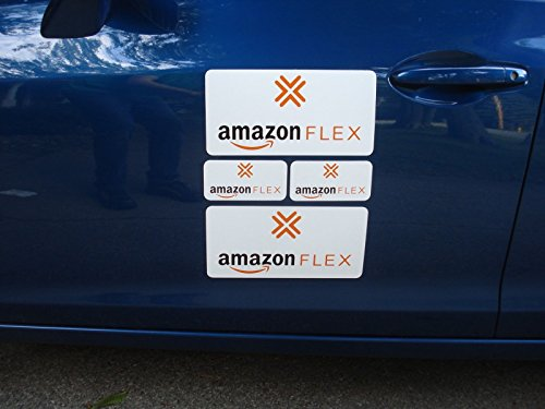 New Car Signs Amazon Flex Car Magnetic Sign Vehicle 4 Signs (2) - 3