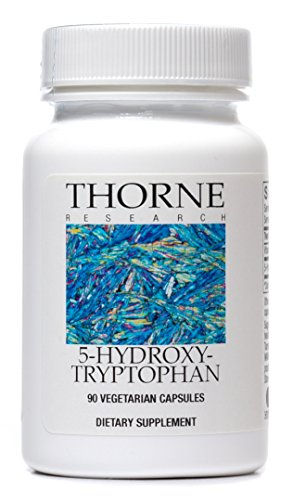 Thorne Research - 5-Hydroxytryptophan (5-HTP) - Serotonin Production Support Supplement - 90 Capsules