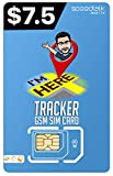 GSM Tracking Devices SIM Card | Pet Kid Senior Spouse Vehicle Tracking Devices - 30 Day Service