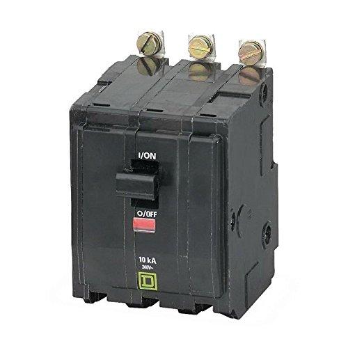 Square D QOB330 Bolt-On Mount Standard Miniature Circuit Breaker With Visi-Trip™ Indicator 3-Pole 30 Amp 240 Volt AC QO™