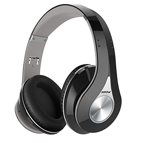 Mpow Bluetooth Headphones Over Ear, Hi-Fi Stereo Wireless...