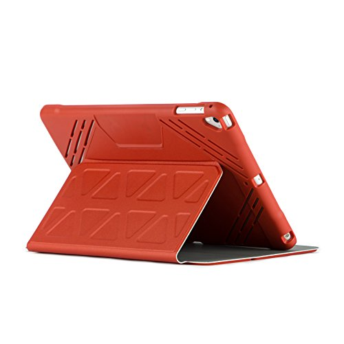 Targus 3D Protection Case for 9.7-Inch iPad Pro, Red (THZ63503GL) (Dell Classic Leather Carrying Case)