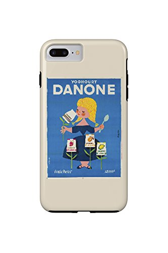 danone-vintage-poster-artist-gauthier-france-c-1955-iphone-7-plus-cell-phone-case-tough