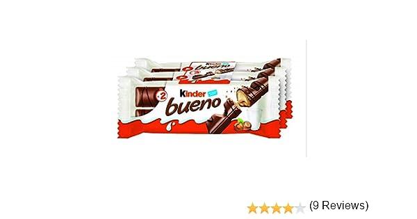 Kinder Bueno - Snack de chocolate - 43 g x 3 unidades: Amazon.es ...