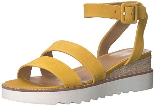 Franco Sarto Women's Connolly Wedge Sandal Summer Yellow 8 M ()