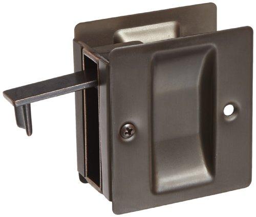 (Rockwood 890.10B Brass Pocket Door Pull, 2-1/2