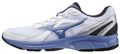 Mizuno Schuh Damen Running Sneaker Crusader 9weiß blau silber