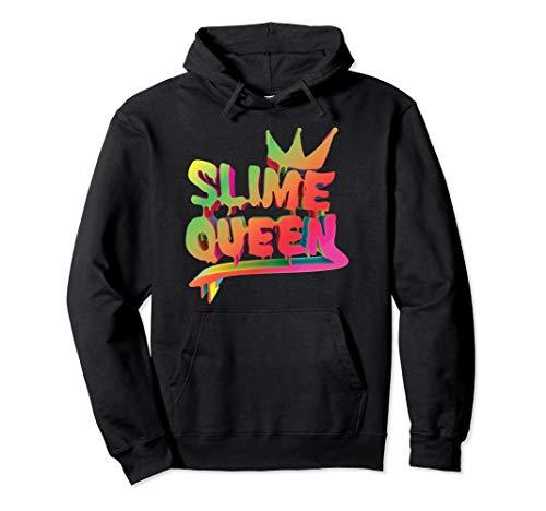 Slime Queen Hoodie Girls Women Gift Hobby Kids Teen Mom