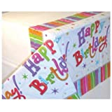 Radiant Birthday Table Cover