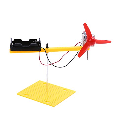 Chinatera DIY Assemble Toy Set Wind Power Turbine Renewable Energy Science Educational Toys for Boys, Kids, Students by Chinatera