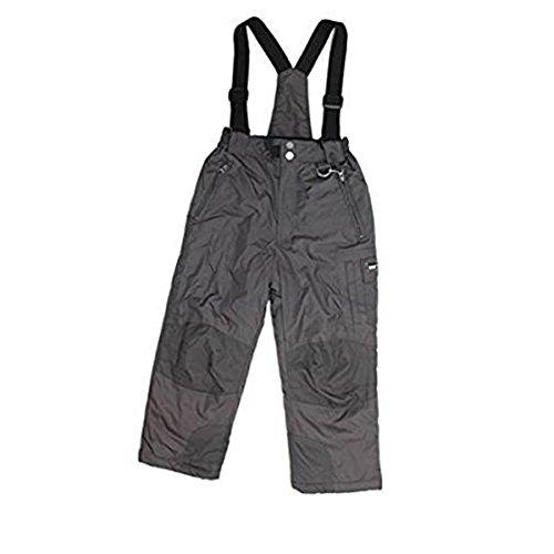 Weatherproof 32 Degrees Boy's Zip-off Suspender Snow Pants (10/12, Black) (Boys Dc Snowboard Pants)