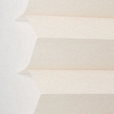 Comfortex Pleated Shades - CUSTOM MADE Comfortex Pleated Shades, Comfortex Pleated Shades, 48W x 72H, Hint of Peach