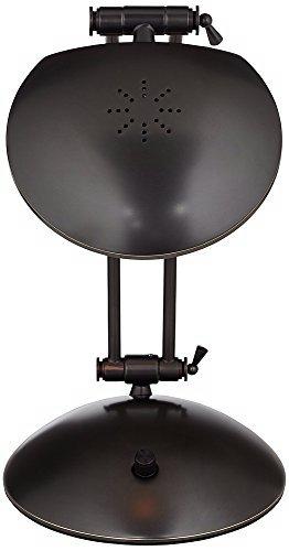 Lite Source Inc LS-3421D//BRZ Lite Source Flash Halogen Desk Lamp Bronze