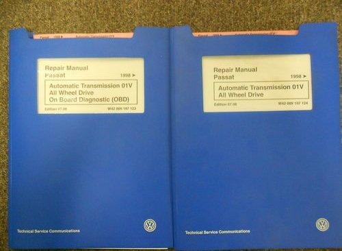Passat shop manual service repair volkswagen book bentley vw dvd.