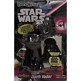 arth Vader Figure with Limited Edition Trading Card ()