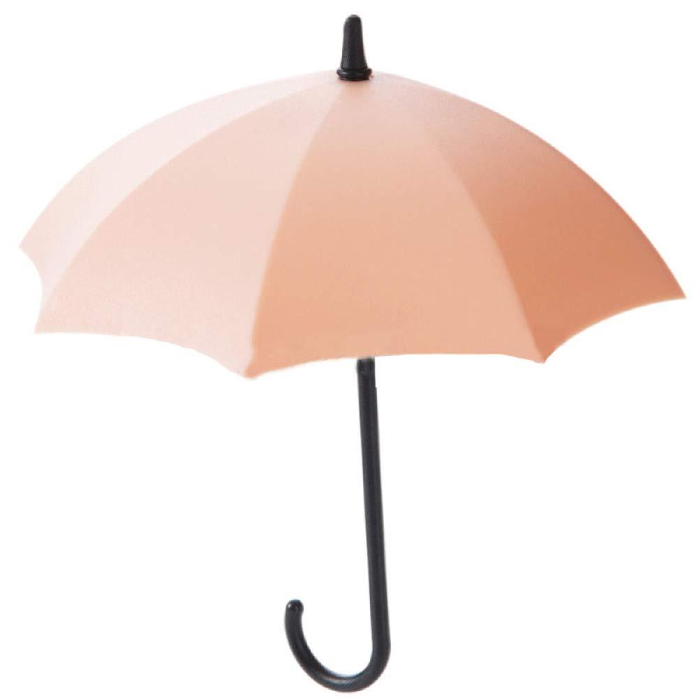 WU LAI Gancio Appeso A Muro Gancio Ombrello Creativo - Adatto per Arredare Casa/Ufficio / Bagno/Cucina / Soggiorno - 14 * 12, 5 Cm, Pink+Blue+Green-14 * 12.5cm doune