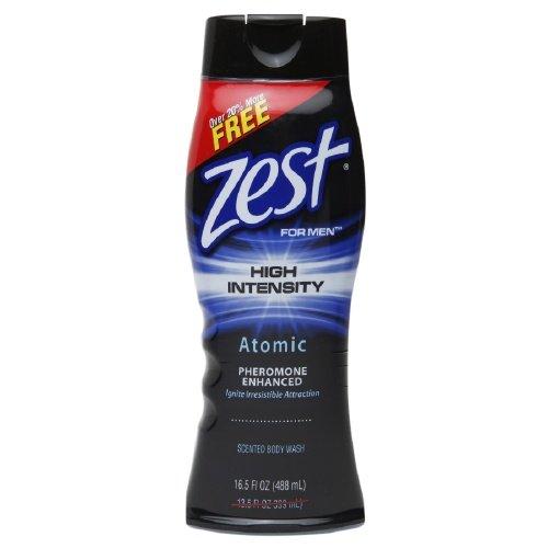 Zest pour hommes, Haute Intensité Body Wash, Atomic 16,5 oz