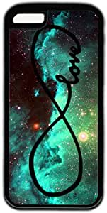 Galaxy Space Infinity Love Theme Iphone 5C Case