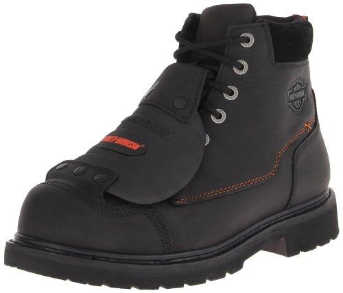 Harley-Davidson Men's Jake Steel Toe Safety Motorcycle Boot, Black, 11 W US