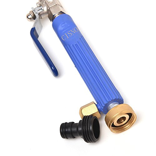 High Pressure Power Washer Spray Nozzle Water Hose Wand Atta