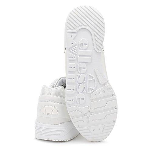 Ellesse Hombres Blanco Mono LS360 Zapatillas