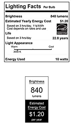 Westinghouse Lighting 5180020 5180000 10 (75-Watt Equivalent) PAR30 Short Neck Flood Dimmable Bright White Indoor/Outdoor Energy Star, Medium Base (6-Pack) LED Light Bulb, Clear, 6 Piece