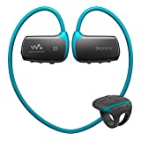 Sony NWZ-WS613 Water Resistant Bluetooth Flash MP3 Player (4GB) - Blue
