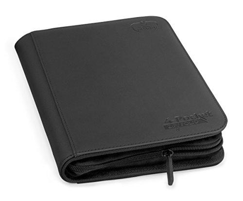 4 Pocket Zipfolio Xenoskin Deck Case, Black ()