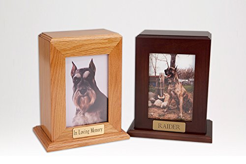 Ever My Pet Framed Photo Pet Urn Vertical Large by Ever My Pet
