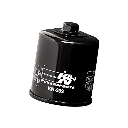K&N KN-303C Motorcycle/Powersports High Performance Oil Filter