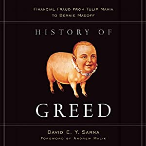 History of Greed Hörbuch