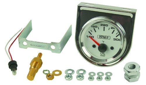 Derale 13009 Oil Temperature Gauge (Temp Gauge Kit)
