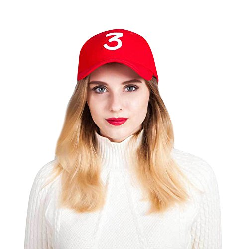 DongDong ♫2018 Fashion Hat, Digital 3 Solid Color Trend Couple Curved Visor Cap