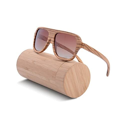 69ddeb3cf92 SHINU Wood Sunglasses Oversized Eyeglasses Wood Frame Polarized Sunglasses- Z6043  low-cost