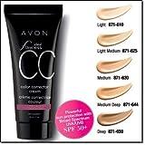 """Avon Ideal Flawless Color Corrector Cream """"CC Cream"""" (Light Medium)"""