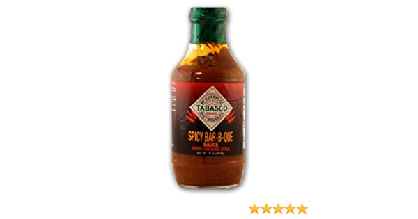 Amazon.com : TABASCO Spicy Bar-B-Que Sauce : Barbecue Sauces : Grocery & Gourmet Food